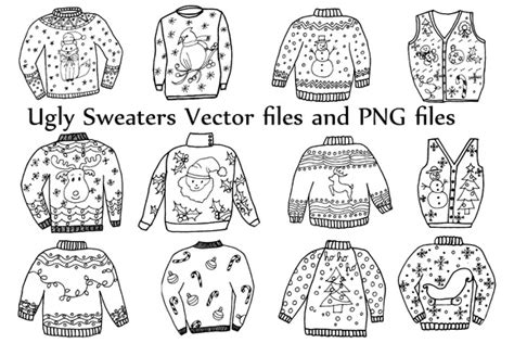 dafont ugly sweater flyer template for ugly sweater contest 187 designtube
