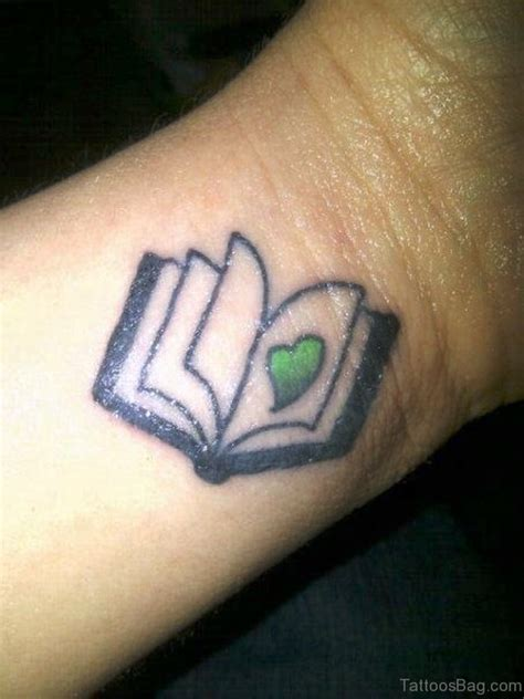 12 nice book tattoos on wrist