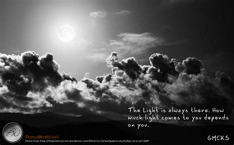 Always There mcks quote the light is always there