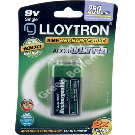 Can You Use Regular Rechargeable Batteries In Solar Lights 4 X Lloytron 9v Pp3 Rechargeable Battery 250 Mah 6lr61 Ebay