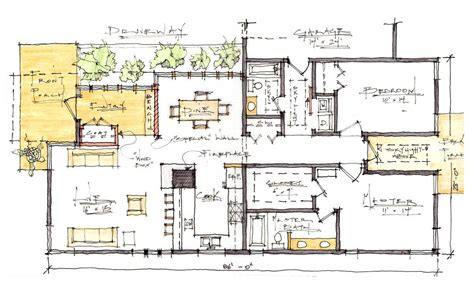 sustainable house plans boise residence a modern craftsman home josiah maddock archinect