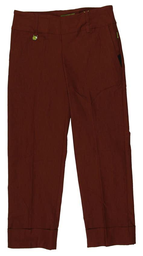 swing control pants new women s swing control comfort pedal pusher golf pants