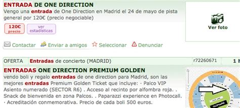 entradas de one direction las entradas para one direction en madrid y barcelona una