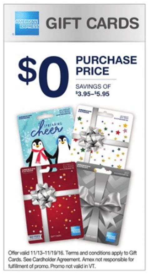 Walgreens American Express Gift Cards - no purchase fee gift cards walgreens promotion