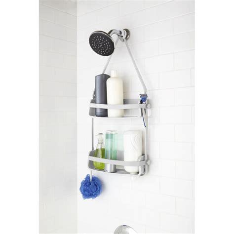 estantes para ducha estante de pared de la ducha blanco dcasa es