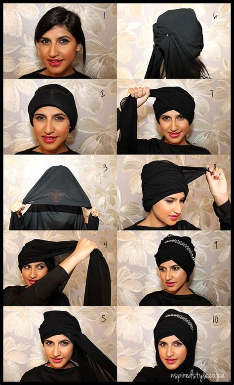 tutorial jilbab turban 33 best images about hijab beautiful and modest on