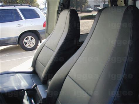 1992 jeep wrangler seat covers jeep wrangler yj 1992 1996 iggee s leather custom seat