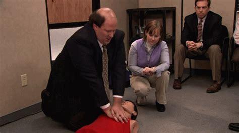 The Office Cpr by Brian Baumgartner Davorite Episode Gif Wifflegif