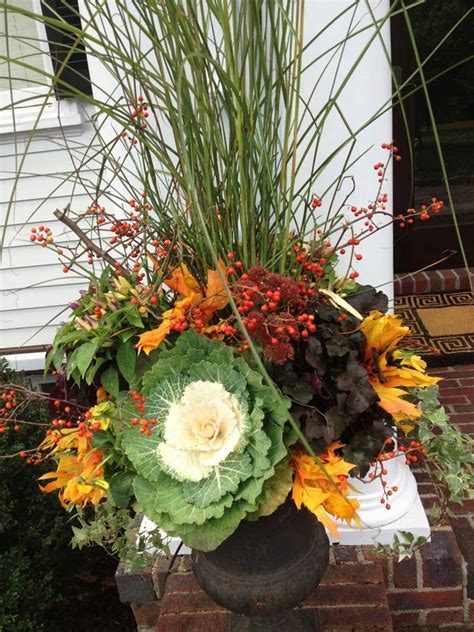 Fall Container Garden Ideas 25 Best Ideas About Fall Container Gardening On Pinterest Fall Containers Fall Container