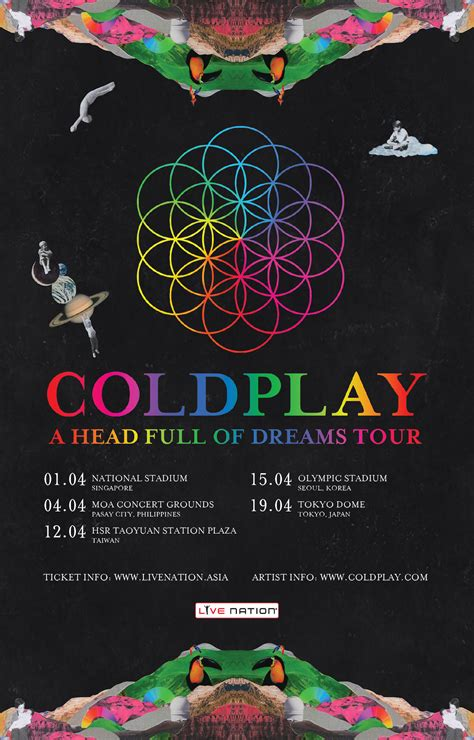 coldplay singapore coldplay adds the philippines to their a head full of