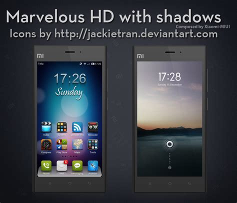 miui v3 themes marvelous hd v3 for miui by xiaomi miui on deviantart