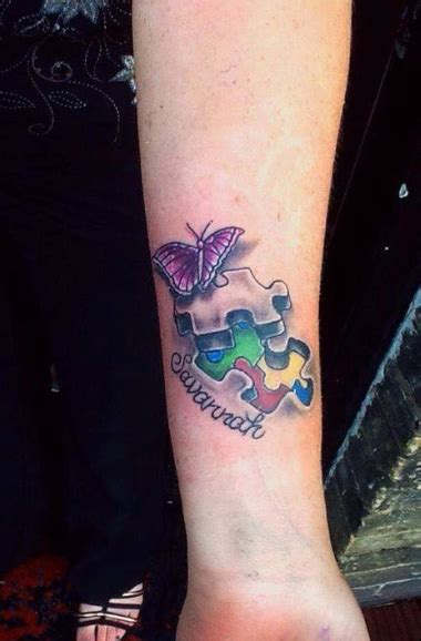 wrist tattoos and jobs ink4autism wendy hanlon s ink4autism quot my new for