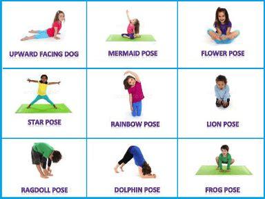 free printable yoga cards for preschoolers kids yoga staten island parent