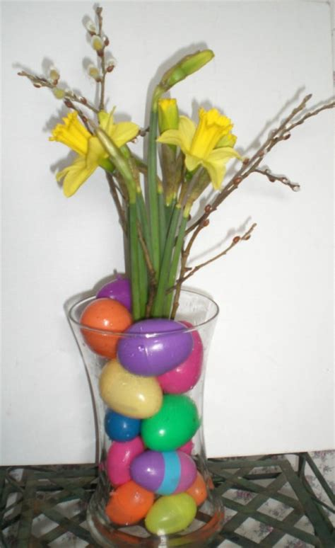 simple easter centerpieces easter centerpiece ideas thriftyfun