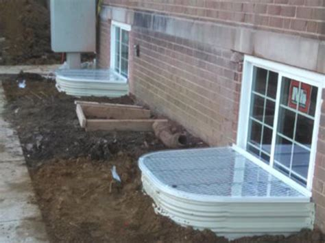 egress walkout basement basement egress systems egress installer steelway