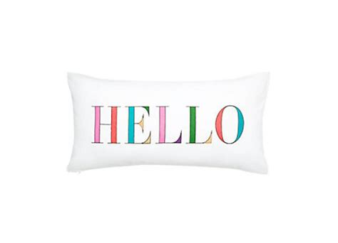 Hello Pillow by 7 Homeware Bits To Give Your Gaff A Gorgeous A W