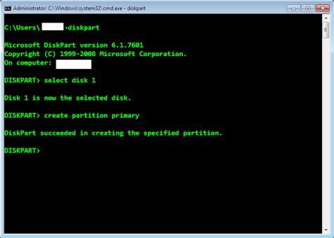diskpart format unit restore usb space without third party tool vipin s blog