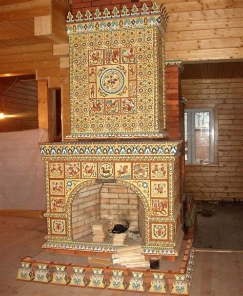 russian style fireplace fireplaces stove