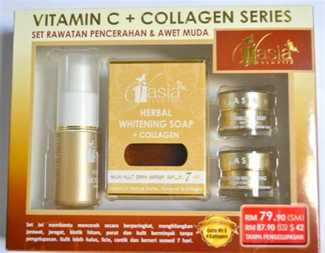 Honey Herbal Soap Produk Pencuci Muka Untuk Kulit Kombinasi Sensitif set rawatan pencerahan awet muda vitamin c collagen series v asia