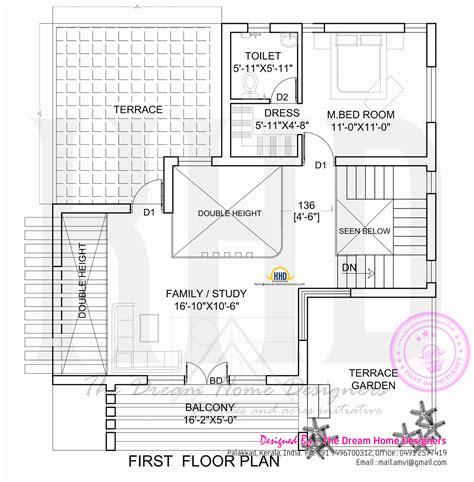 home design plans for 1500 sq ft 3d 1700 sq feet 3d house elevation and plan kerala home