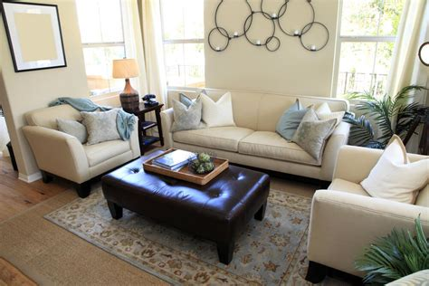 living room ottoman 47 beautiful living rooms with ottoman coffee tables