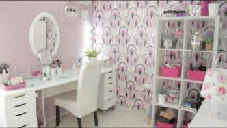 Vanity Ideas For Bedroom makeup room tour decoraci 243 n youtube