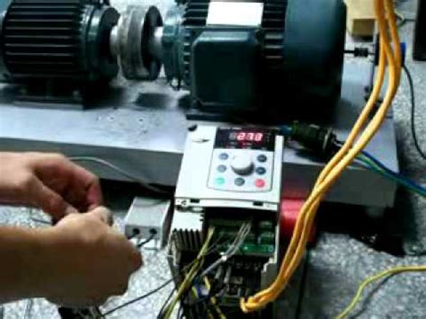 Intrerupator Motor Electric Monofazat by Vtdrive 174 Variable Frequency Drive Performance Test The Pg
