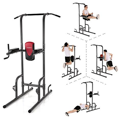 Push Up Push Up Bar Power Push Up tomshoo fitness power tower with dip station pull up bar standing multi push up knee raise stand