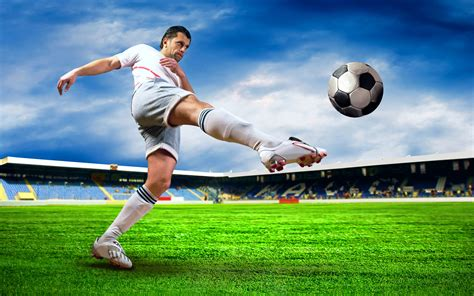 soccer play soccer player high quality photo
