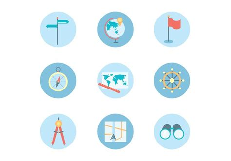x theme list of icons flat icons of navigation theme download free vector art