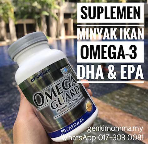 Suplemen Minyak Ikan Omega 3 minyak ikan omega 3 genkimomma