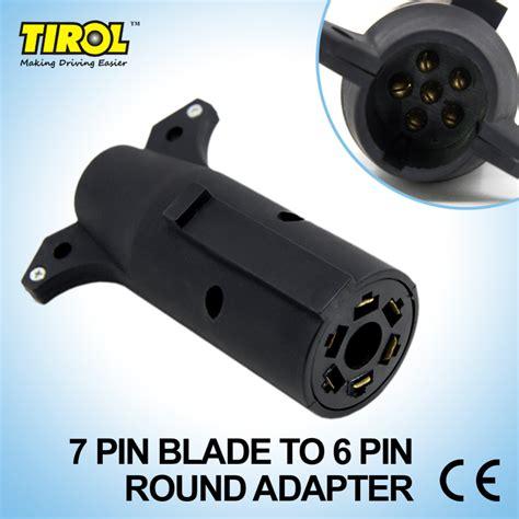 6 blade trailer connector k grayengineeringeducation