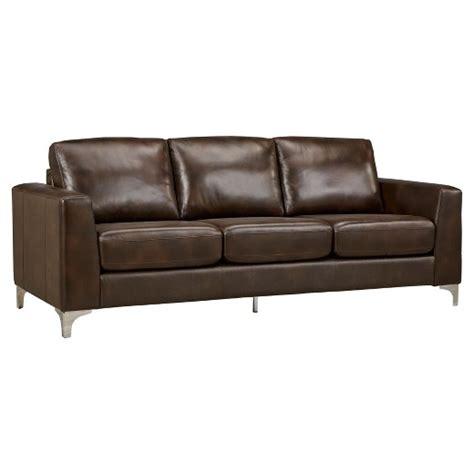 Inspire Q anson leather sofa inspire q 174 target
