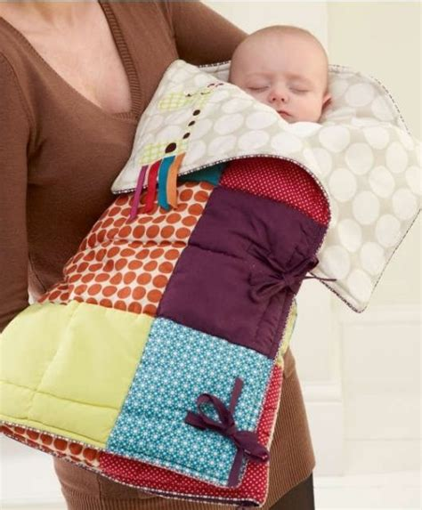 how to make a sleeping bag out of a comforter stitch up a snuggly sleeping bag for baby quilting digest