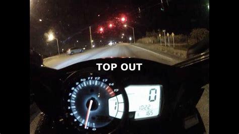 186 Mph To Kmh by Suzuki Gsxr 1000 Top Speed Runs 186 Mph