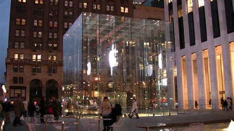 nyc store apple store new york city 5th ave