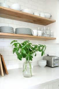 wood kitchen shelving kitchen subway tiles are back in style 50 inspiring designs