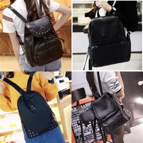 Bir Butterfly Tas Wanita Tas Fashion Import new edition fashion backpack korean style tas ransel wanita import kulit sintetis hitam elevenia