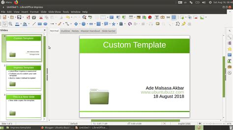 4 By 11 Card Templates For Libreoffice by Libreoffice Impress Custom Default Template