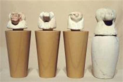 vasi canopi egiziani la collezione egizia museo archeologico cultura