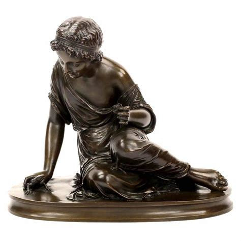 classical antique bronze sculptures figurine old man french classical antique bronze sculpture of girl with