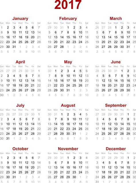 Open Calendar Clipart 2017 Calendar