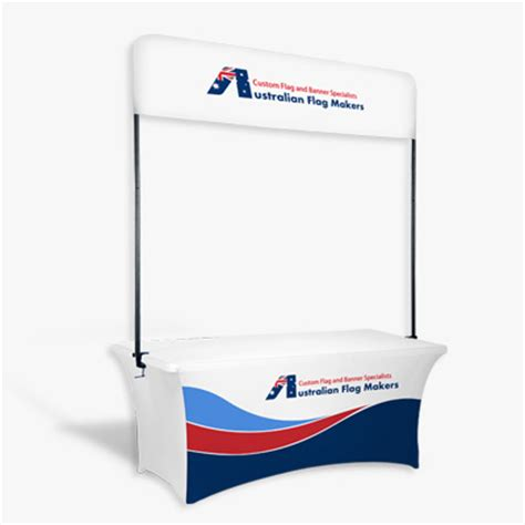 table top banners table top banner custom flags and banners by australian