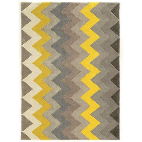 yellow and grey chevron rug linon trio collection chevron grey yellow area rug 8 x 10