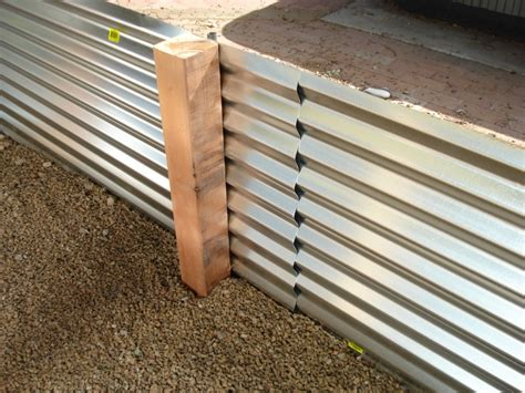 Corrugated Iron Planters by Corrugated Metal Planters Garden