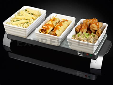 swan cordless warming tray food warmer buffet sw01ss ebay