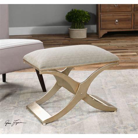 modern bed bench uttermost kiah upholstered modern bedroom bench reviews