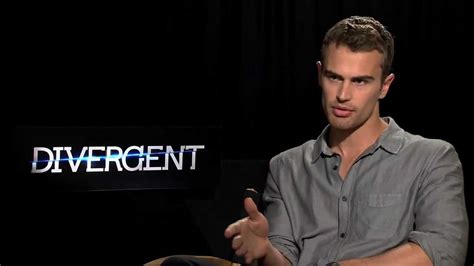 theo james aka four interview for quot divergent quot youtube