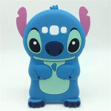 Samsung Galaxy S4 3d Stitch Silicon 2 for samsung galaxy a5 a5000 silicon lilo cover 3d stitch silicone cell phone capa rubber
