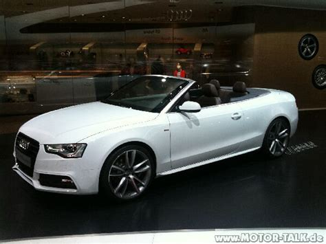 Audi A5 Cabrio Wei by A5 Cabrio Weiss A5 Facelift Offiziell Audi A5 B8